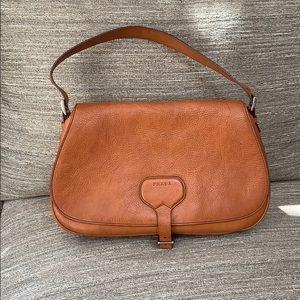 PRADA Vachetta Naturale Leather Saddlebag